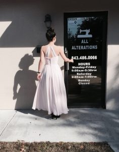 Pageant Prom Gown Alterations Summerville SC